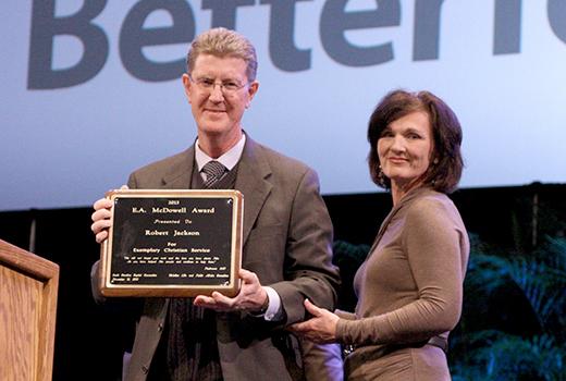 Robert Jackson - 2013 E.A. McDowell Award