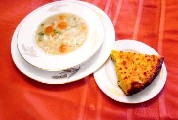 Sunday Dinner - Yum Yum Chicken Soup and Cornbread