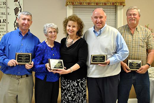 CMCH volunteer awards 2014