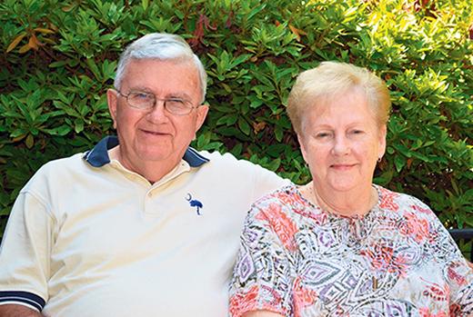 Gary and Edna Watson