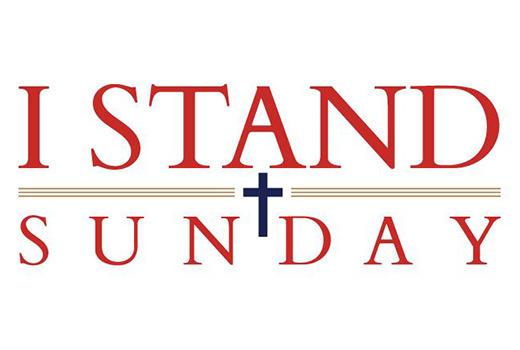 I Stand Sunday logo