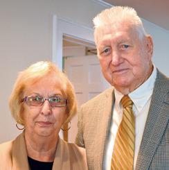 Gayle and John Aspray.