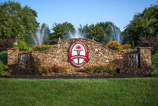 North Greenville University - waterfall