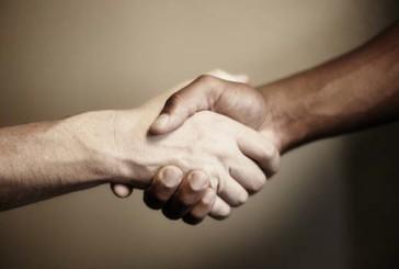 racial handshake