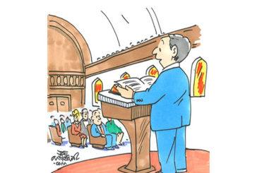 (Cartoon by Joe McKeever)