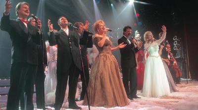 the cast of the carolina opry christmas special performs hes alive - Carolina Opry Christmas Show